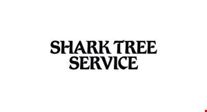 Shark Tree Service logo