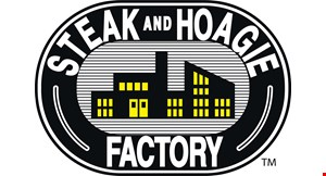 Product image for Steak & Hoagie Factory $10 For $20 Worth Of Casual Dining