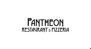 PANTHEON RESTAURANT & PIZZERIA logo