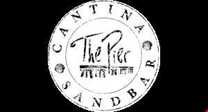 The Pier Cantina & Sandbar logo