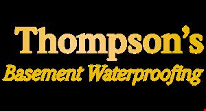 Thompson Basement Waterproofing logo