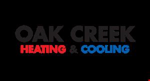 Oak Creek Heating & Cooling logo