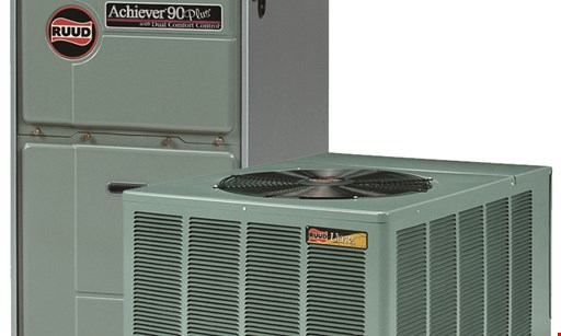 Product image for Oak Creek Heating & Cooling $59.95+ tax any gas furnace or a/c tune-up reg. price $64.95.