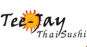 Product image for Tee-Jay Thai Sushi 15% off pickup or delivery order