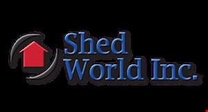 Shed World logo