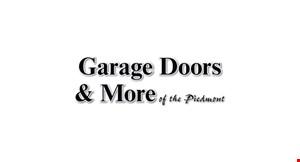 Garage Doors and More logo