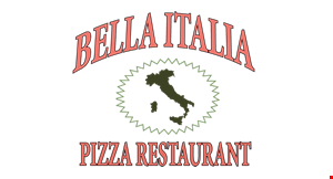 Product image for BELLA ITALIA PIZZA RESTAURANT $16.99 3 large Italian or ham and cheese hoagies.