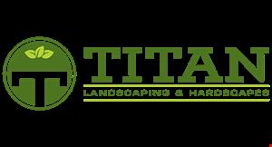 Titan Landscaping and Hardscapes logo