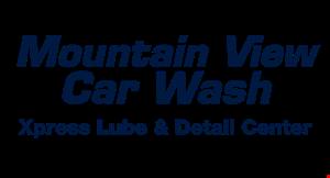 Mountain View Car Wash logo