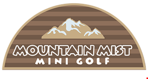 Mountain Mist Mini Golf logo