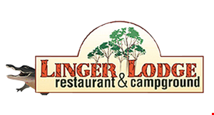 Linger Lodge logo
