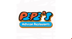 Product image for Pepe's Mexican Restaurant - Tinley Park $10 off Any order
