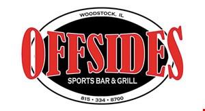 Offsides Sports Bar & Grill logo