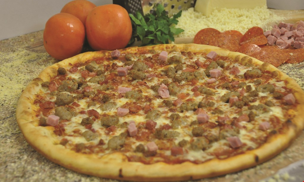 Product image for RIVERSIDE PIZZA FREE large cheese or pepperoni pizza