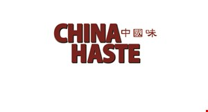 Product image for China Haste $15 For $30 Worth Of Chinese Cuisine (Also Valid On Take-out W/ Min. Purchase Of $45)