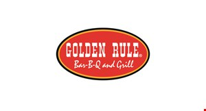Product image for Golden Rule Bar-B-Q and Grill Free chopped pork or chicken sandwich