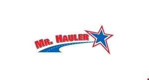 Mr Hauler logo