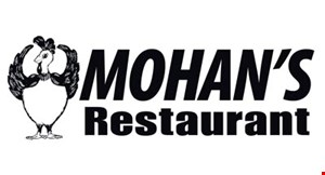 Product image for Mohan's Restaurant $15 For $30 Worth Of Casual Dining (Also Valid On Take-Out W/ Min. Purchase Of $45)