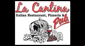 La Cantina Italian Restaurant, Pizzeria & Pub logo
