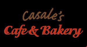 Casale's Cafe & Bakery logo