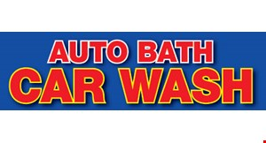 Auto Bath Car Wash logo