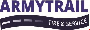 Product image for Army Trail Tire & Service $100-$200 $10 off. $201-$300 $20 off. $301- $30 off