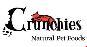 Crunchies Natural Pet Foods logo
