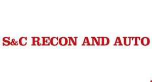 S & C Recon and Auto logo