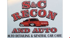 Product image for S & C Recon and Auto $105 complete auto detailing package (reg. $175)