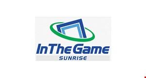 In The Game - Sunrise logo