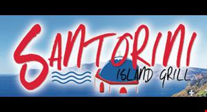 Product image for Santorini Island Grill $10 off entire bill