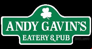 Andy Gavin's Eatery & Pub logo