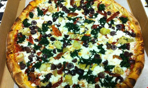Product image for Nini's Pizza & Restaurant $20.99 Includes Deluxe House Saladand Pint ofIce Cream XLargeCheese Pizza