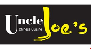 UNCLE JOE'S CHINESE CUISINE logo