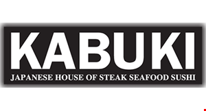 Product image for Kabuki Japanese House of Steak Seafood Sushi $10 off any purchaseof $50 or more
