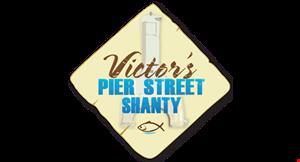 Victor's Pier Street Shanty logo