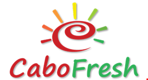 Product image for Cabo Fresh $2 OFF $10.