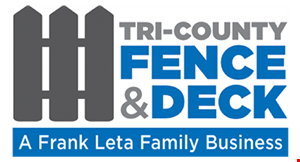 Tri County Fence and Deck logo