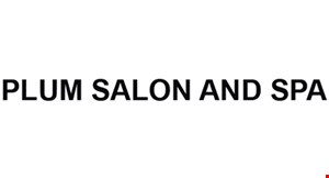 Plum Salon and Spa logo