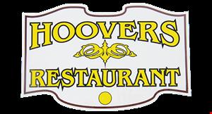 Hoovers Restaurant logo