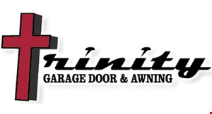 Product image for Trinity Garage Door & Awning $25 offbroken spring repair.