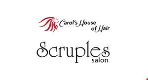 Scruples Salon logo