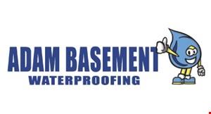Adam Basement Waterproofing logo