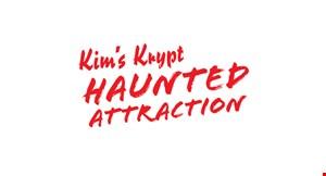 Kim's Krypt Haunted Attraction logo