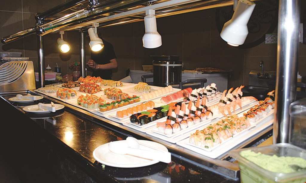 Product image for Hibachi Buffet Sushi & Seafood $3 off entire check of $25 or more