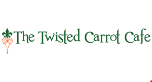 Twisted Carrot Cafe logo