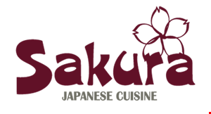 Product image for Sakura Japanese Cuisine $10 off when you spend $50 or more.