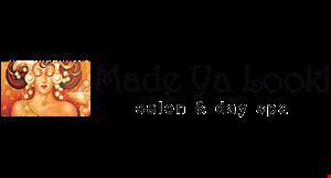 Made Ya Look! Salon & Day Spa logo