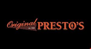 Original Presto's logo