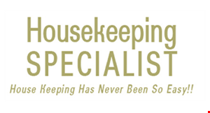Housekeeping Specialists logo